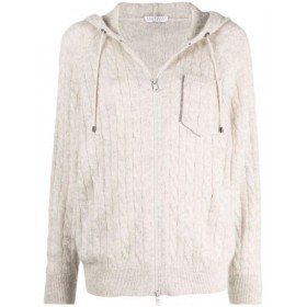 Cardigan Sparkling Cable in...